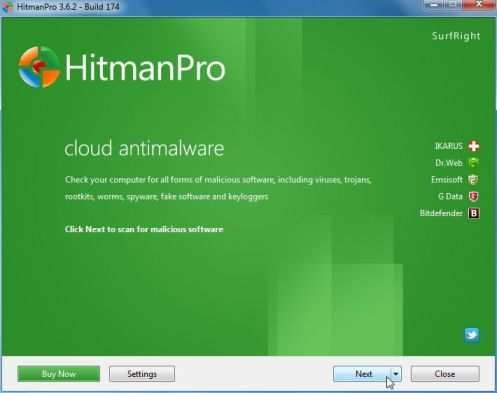 Сканер HitmanPro