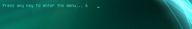 [Изображение: Запуск зараженного компьютера с Kaspersky Rescue Disk]